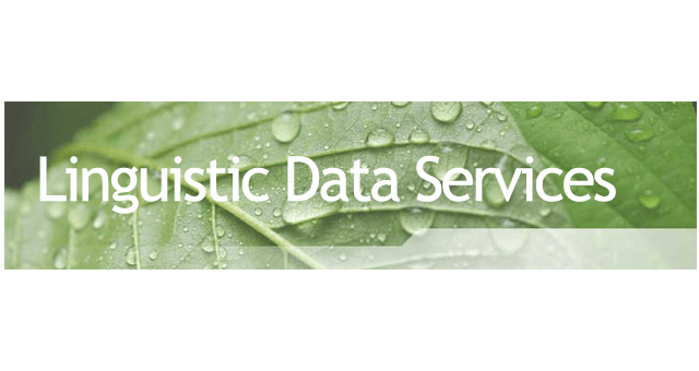 Linguistic Data Services